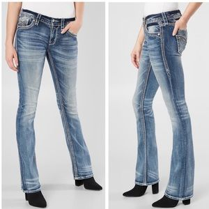 Rock Revival 'Liri' Stretch Mid-Rise Bootcut Jeans